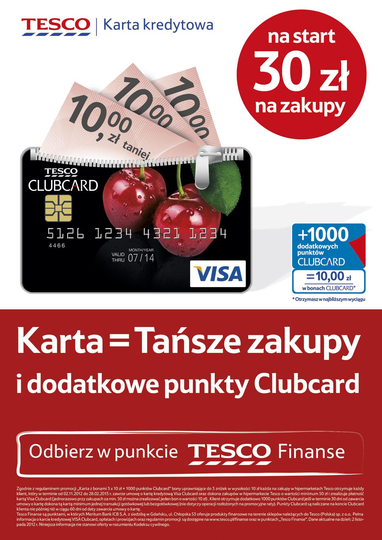 Tesco Finanse / Copywriting Agata Stachowska / Realizacja AR CzART