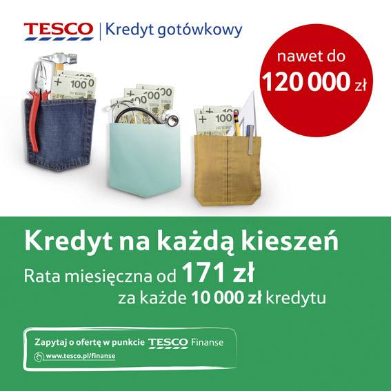 TESCO FINANSE / Copywriting Agata Stachowska