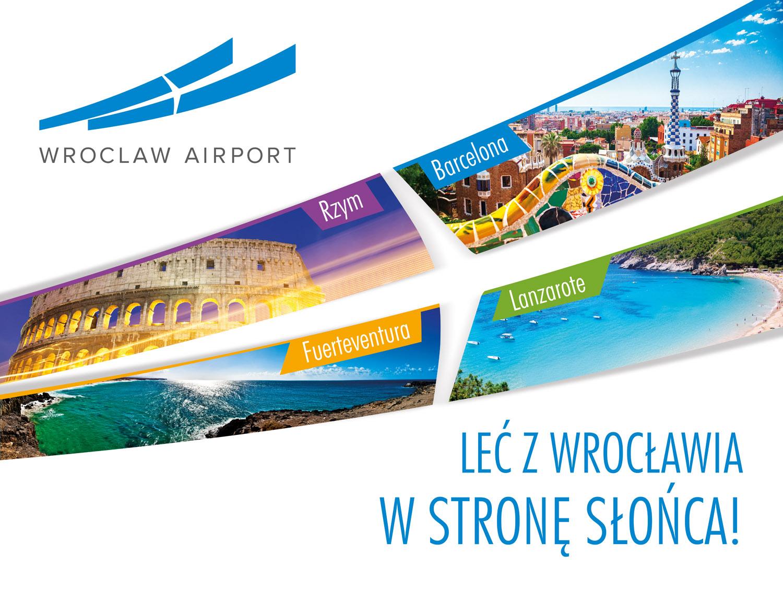 Wrocław Airport / Copywriting Agata Stachowska / Realizacja AR CzART