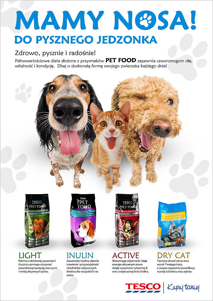TESO PET FOOD / Copywriting Agata Stachowska