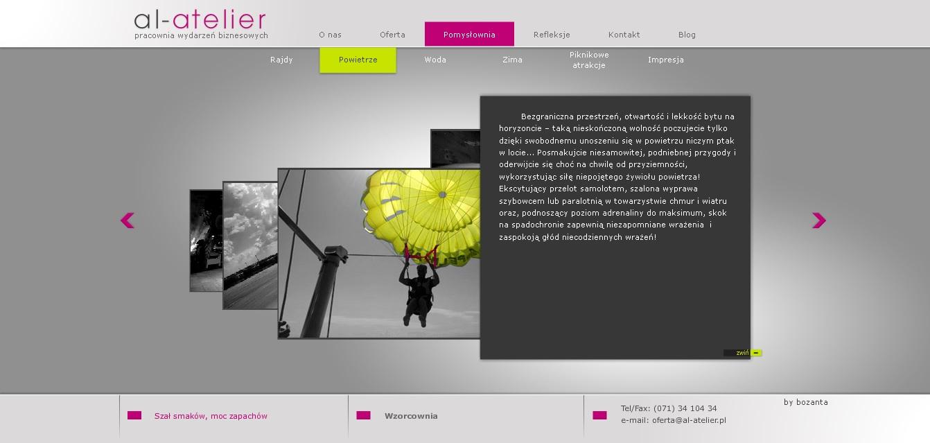 www.al-atelier.pl / Copywriting Agata Stachowska